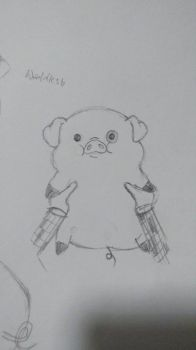 baby waddles by Tridoe