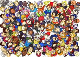 KOF Characters -KOF 10th- by brianz2008