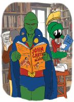 Martians Can Read by WibbitGuy