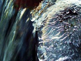Intricate ice bubble... by Sydney0007