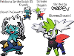 Pokesona Sprite Batch #5 by Cheeyev