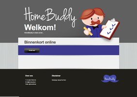 Homebuddy webdesign by Leconte