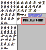 METAL GEAR SPRITES by dErF-iNtEnSiTy