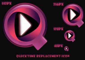 QuickTime Replacement Icon by 878952