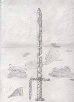 Sword of the Mists by ColinGhastslayer