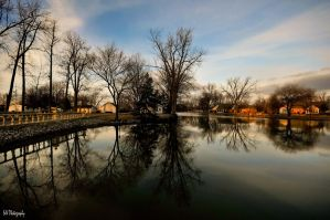 Reflections on a Canal by Occamsrasr