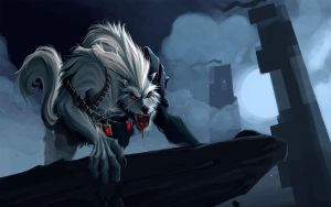 League Of Legends - Warwick by Anarki3000