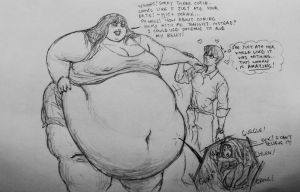 Vore: His date, her dinner by Ray-Norr