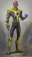 Sinestro by Raggedy-Annedroid