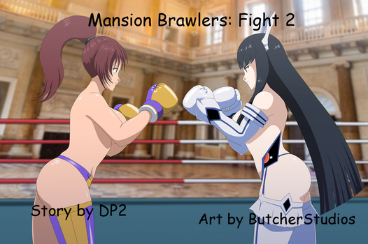 Mansion Brawlers Fight 2 by deadpoolthesecond