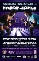 September Bout Poster by schwa242