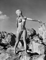 Outdoor Nude, Early 1960's by NJDVINTAGE