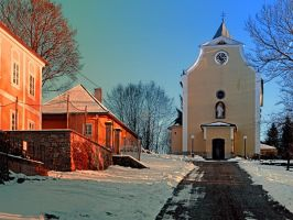 The village church of Berg bei Rohrbach I by patrickjobst