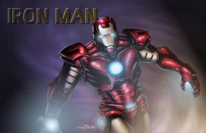 The Invincible Iron Man by SachaLefebvre