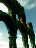 Whitby Abbey by LaurenIsDreaming