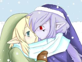 First Snowfall - VaaLink by blackorchid2007