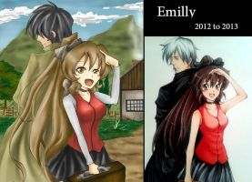 Emilly 2012 to 2013 ~~ by yuukitaachi