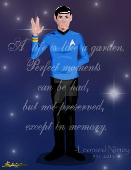 Prosper to Perfection in the Garden of the Galaxy by Son-Lane