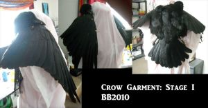 Crow Garment 1 WIP by Magpieb0nes
