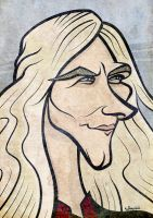 Game of Thrones - Viserys Targaryen Caricature by LaserDatsun