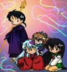 Inuyasha Group by DemoniumAngel