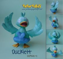 Ducklett Papercraft by xDCosmo