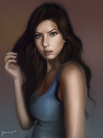 study from the photo by keyholestyle