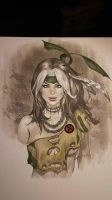 eBas Savage land Rogue copic bust  by ebas