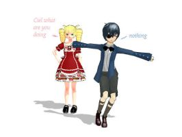 What is Ciel doing?? by buddy1o