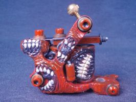 Tattoo machine I converted for Infinite Irons prt2 by Undead-Art