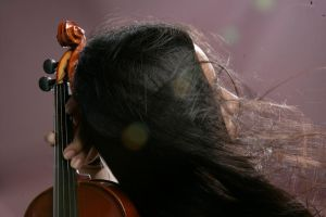 Girl With Violin 10 by b-e-c-k-y-stock