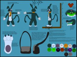 Kola Reference Sheet by CavemanBoo