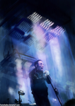 Trent Reznor: Tension 2013 by FoxInShadow