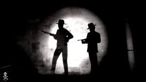 Gangsters Silhoette by CZProductions