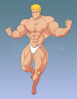 [COM B10.18] Speedo Man by zephleit