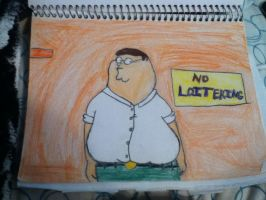 Peter From Family Guy by SoulofKalidescope