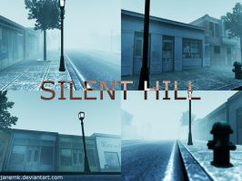 Silent hill 3d's max scene by janemk