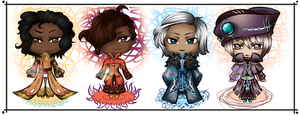 Four Elements Boys [4/4 OPEN] by Nina-Adopts