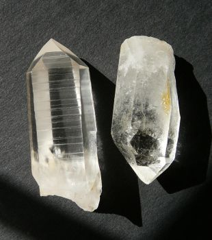 Quartz Crystal Rock Stock by Enchantedgal-Stock
