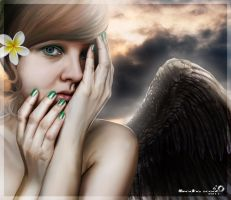 Hermoso Angel by mendha