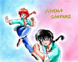 Interview 1- Ranma Saotome by ranmaonehalf