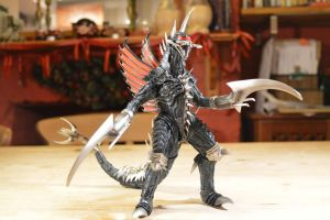 S.H Monsterarts Gigan 2004 (1/?) by GIGAN05