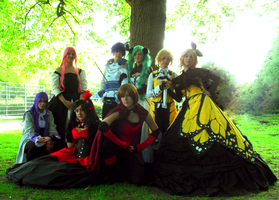 Daughter of Evil group shot. by playmobiel