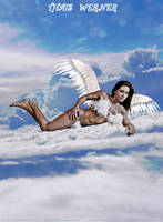 ANGELIC Thais Werner Above The Clouds by zenx007