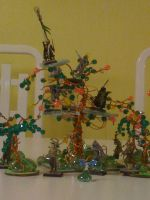 Asrai Bead Tree Closeup by Recraptor