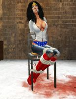Wonder Woman Kidnapped III by ValeriaY