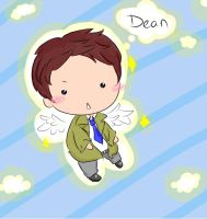 Castiel the angel of cuteness by MissCatKapowie