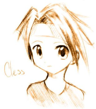 Tales of Phantasia - Cless by SoothingMelody