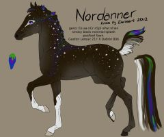 Nordanner foal 1696: Roo X Dabriri by DemiWolfe-Stables