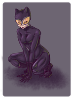 Catwoman by Kharybdos
